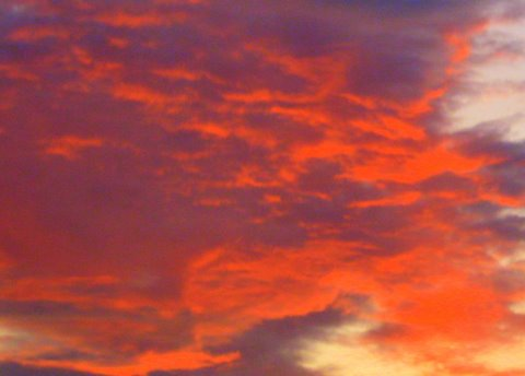 sunset sky-1