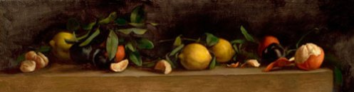 Still Life, Lemons and Oranges by Jill Hooper