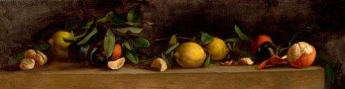 Still Life, Lemons and Oranges by Jill Hooper